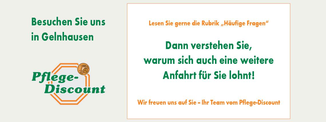 Pflege-Discount: Besuchen Sie uns in Gelnhausen